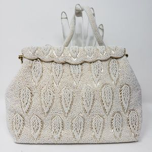 Vintage Intricately Beaded Evening Purse